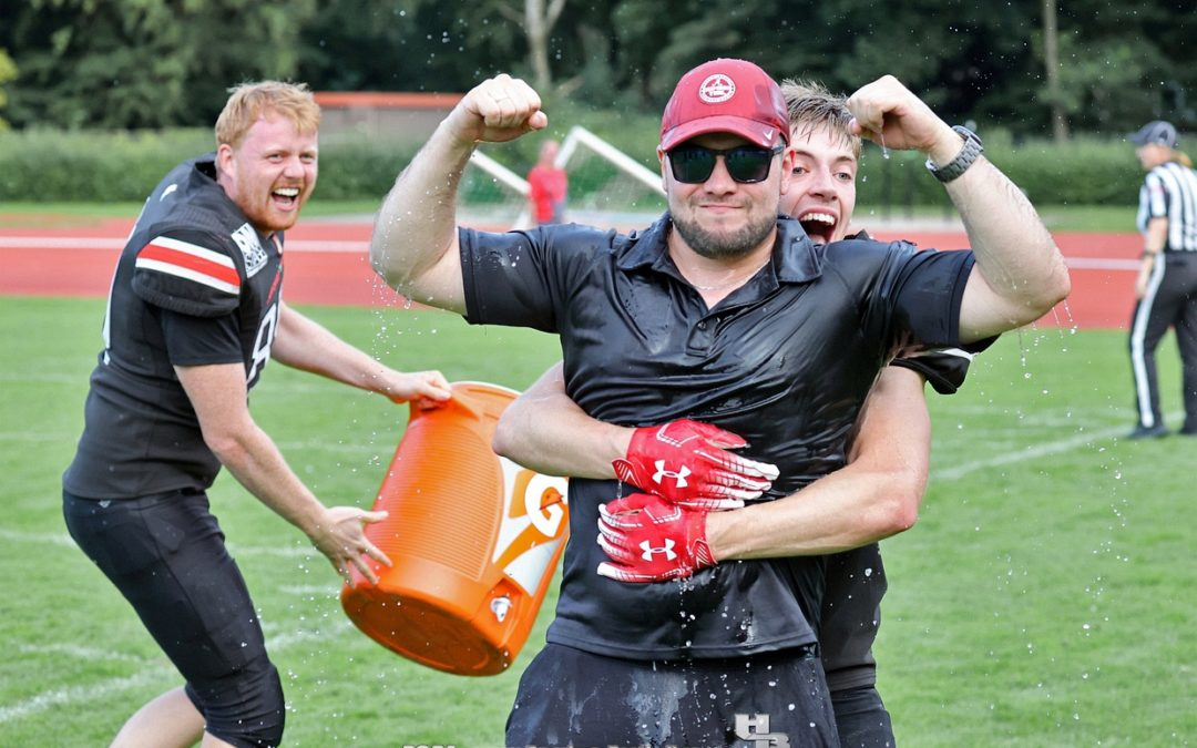 29:17! Huskies gewinnen Derby-Krimi gegen Lübeck Cougars!