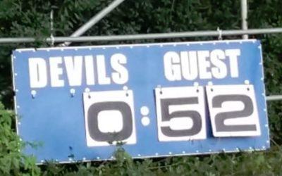 *BÄÄMMMM* – Little Huskies gewinnen das Lokalderby gegen die Little Devils mit 52:0